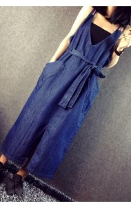KDS125822YR Street style denim dress