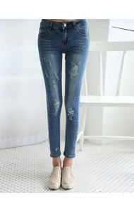 KPT058735YW Rip skinny jeans ACTUAL PICTURE