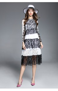 BDS0214681Y 2017 full lace dress ACTUAL PHOTO
