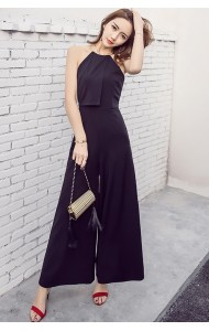 KPJ03071869Y Halter neck culottes jumpsuit ACTUAL PHOTO