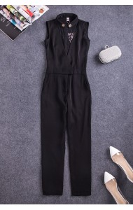 BJP040583985C Designer inspired jumpsuit ACTUAL PICTURE (more color)