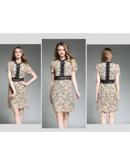 BDS050455159X SP inspired full lace dress ACTUAL PICTURE