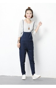 KJP051711053D Plus size denim jumpsuit ACTUAL PHOTO (more colors)
