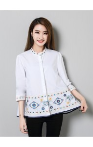 KTP07127386X Embroidery shirt ACTUAL PHOTO