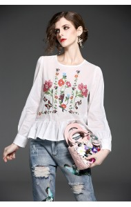 BTP07192005L Embroidery tops ACTUAL PHOTO