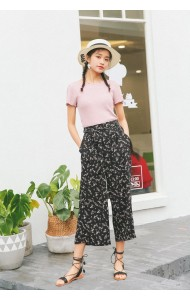 KPT0725259W High waist floral pants ACTUAL PHOTO