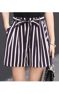 KPT08172588J Stripes shorts with bow ACTUAL PHOTO