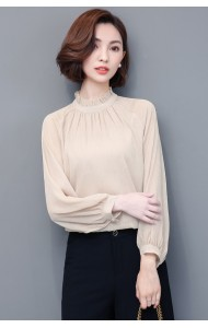 KTP09064406H High neck glitter blouse ACTUAL PHOTO