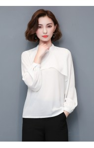 KTP09065406H High neck long sleeves blouse ACTUAL PHOTO
