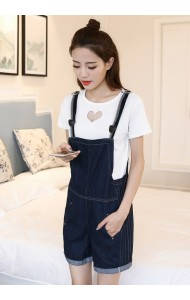 KJP09237299J Denim jumpsuit ACTUAL PHOTO