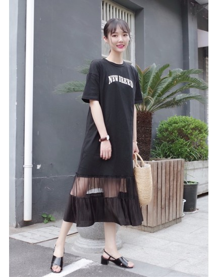 KDS10251006X Pleated dress REAL PHOTO