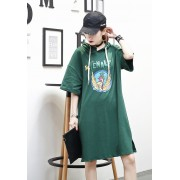 KDS10263608J Carton hoodie dress REAL PHOTO