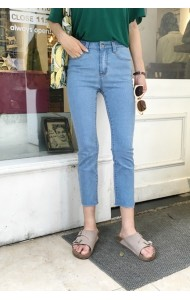 KPT1031161L Skinny denim pants REAL PHOTO