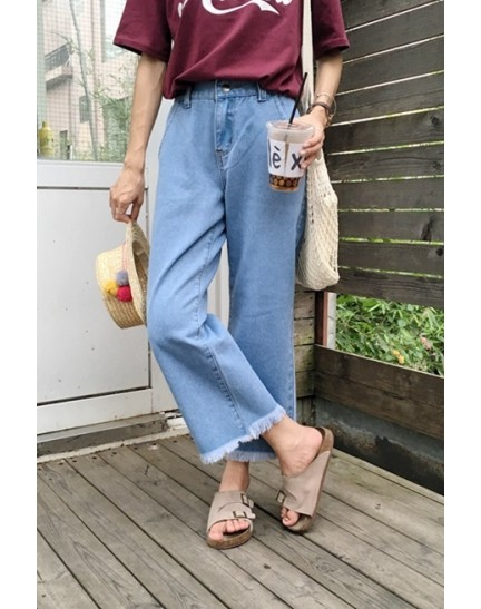KPT1031061L Denim pants REAL PHOTO