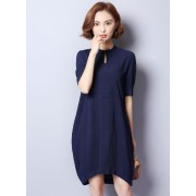 PDS11013166J Plus size tulip dress REAL PHOTO