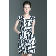 KDS12021586T V neck chiffon dress REAL PHOTO
