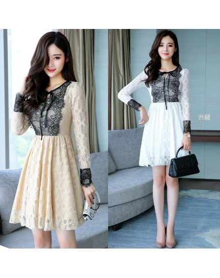 KDS12071285X Full lace dress REAL PHOTO