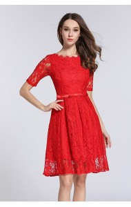BDS12081003Q Full lace dress REAL PHOTO
