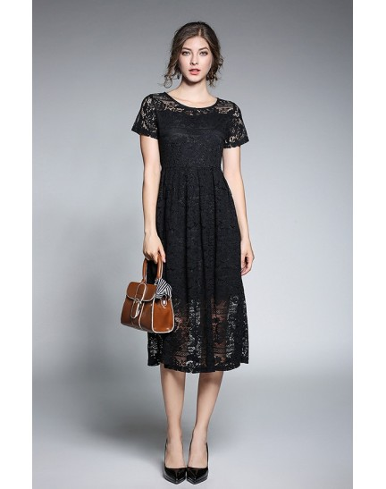BDS12132908Y Full lace dress REAL PHOTO