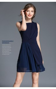 BDS01180625X Pleated mini dress REAL PHOTO