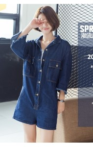 KJP04077889Y Denim jumpsuit REAL PHOTO