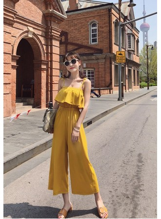 KJP04135246D Strappy jumpsuit REAL PHOTO