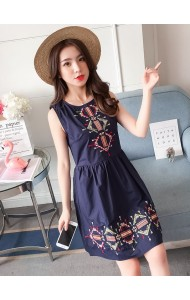 KDS04289081Y Embroidery dress REAL PHOTO