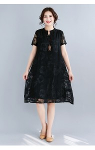 KDS07038625Y Full lace A line dress REAL PHOTO