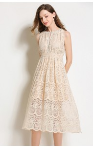 BDS07112126X Halter full lace dress REAL PHOTO