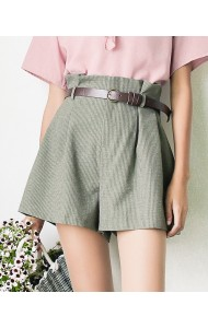 KPT07181188P High waisted belted pants REAL PHOTO