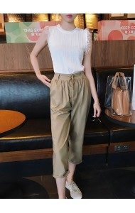 KPT0728006G High waisted pants REAL PHOTO