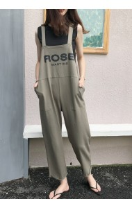 KJP0725913J Korea ROSE jumpsuit set REAL PHOTO
