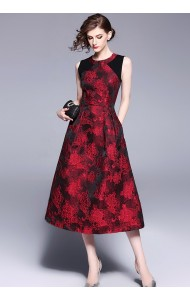 BDS0922871T Premium embroidery party dress REAL PHOTO