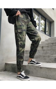 KPT09222622Q Army long pants REAL PHOTO