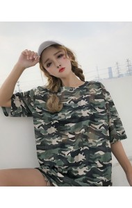 KTP09228673B Army netting t shirt REAL PHOTO