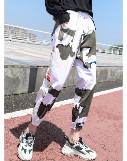 KPT0926398C Army long pants in white REAL PHOTO