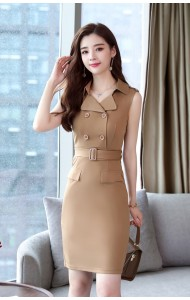 KDS10312281P Knit belted dress REAL PHOTO