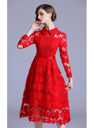 BDS11297723M Crochet lace dress PHOTO