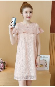 KDS12050188L Off shoulder full lace dress PHOTO