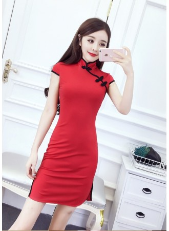 KDS06125872K Basic cheongsum dress PHOTO
