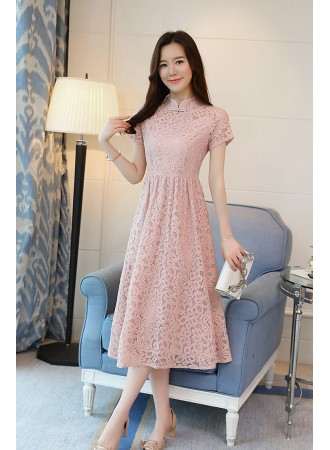 KDS12137108Q Full lace cheongsum dress PHOTO
