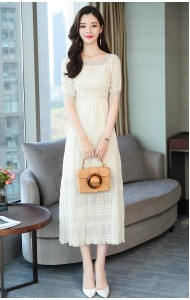 KDS03026089H Off shoulder lace dress REAL PHOTO