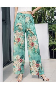 KPT03191861Y Printed floral pants REAL PHOTO