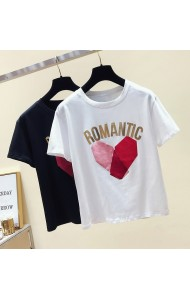 KTP04296389L Romantic velvet t shirt RAL PHOTO