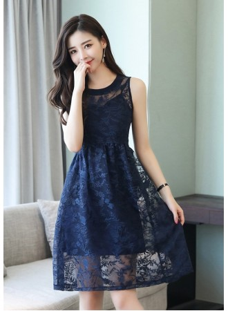 KDS05151558Y Embroidery 2 pc dress  REAL PHOTO