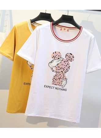 KTP05202891R Mickey plus size t shirt REAL PHOTO