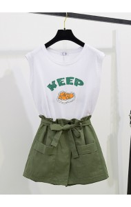 KST06052118M KEEP skort set REAL PHOTO