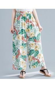 KPT06103786F Floral print culotte REAL PHOTO
