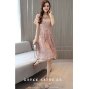 KDS06152306Y Lace crochet dress REAL PHOTO