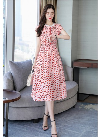 KDS06152907Y Polka dress REAL PHOTO